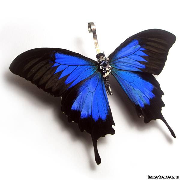 Бабочка в стиле стимпанк 2